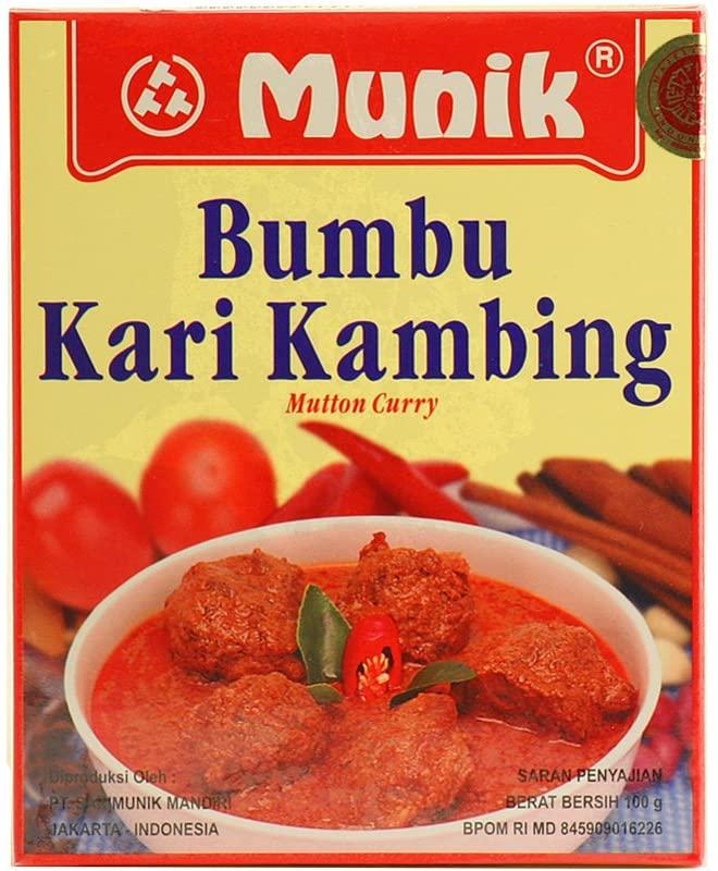 Bumbu Kari Kambing (Mutton Curry Seasoning) – 3.5oz (Pack of 1)